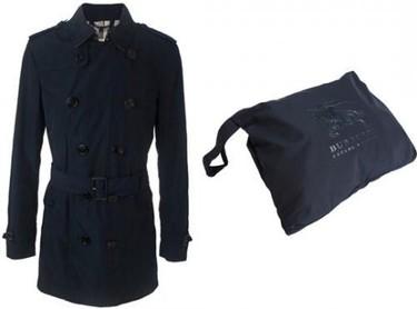 Burberry lanza su nuevo abrigo plegable