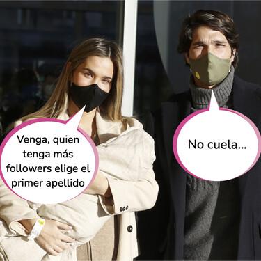 El curioso método de Pablo Castellano y María Pombo para elegir el orden de los apellidos de Martín