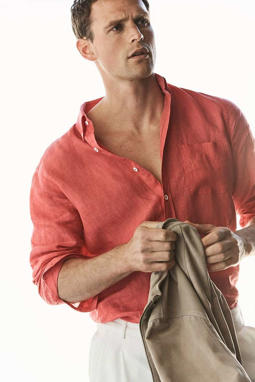 Massimo Dutti Linen Collection