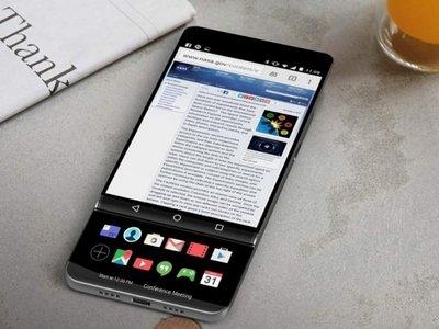 Pantalla OLED y 18:9 para el LG V30, que no tendría su característica segunda pantalla