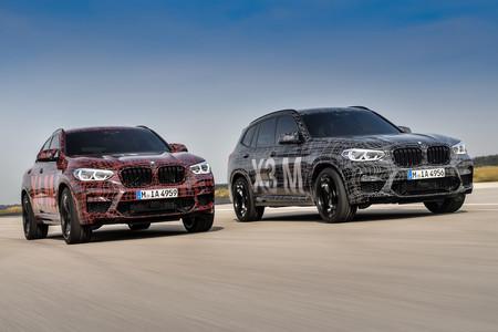 BMW X3 M y X4 M prototipos