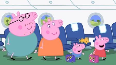 En Clan han preparado un fin de semana con Peppa Pig en la televisión y en las tabletas