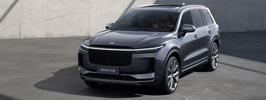 Este Li Xiang One es un nuevo SUV eléctrico de autonomía extendida, a la venta en China este año