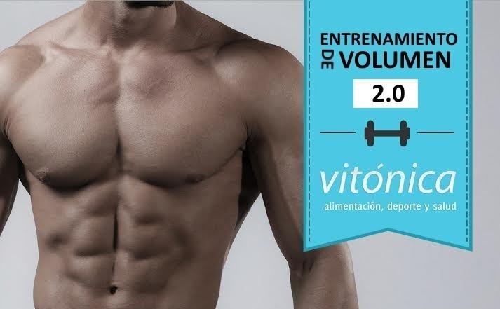 Entrenamiento de volumen 2.0: cuarta rutina semanal (V)