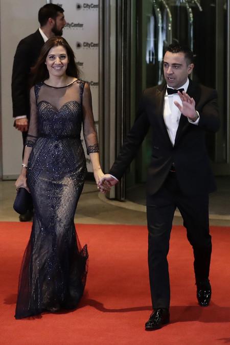 Xavi Hernandez Y Nuria Cunillera