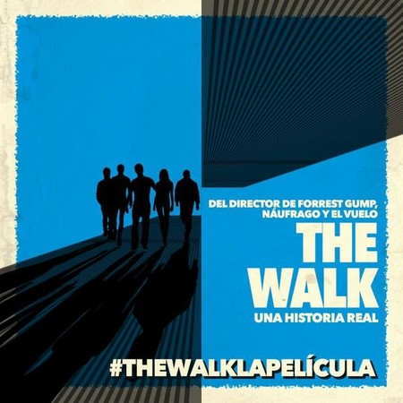 Teaser póster en español de The Walk