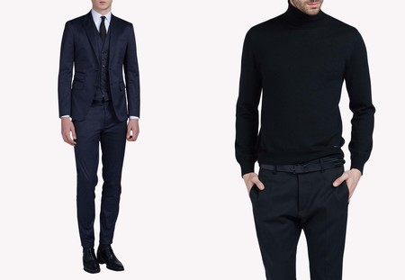 Manchester City Football Dsquared2 Suits Collection