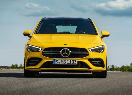 Mercedes Benz Cla35 Amg 4matic Shooting Brake 2020 1600 0e