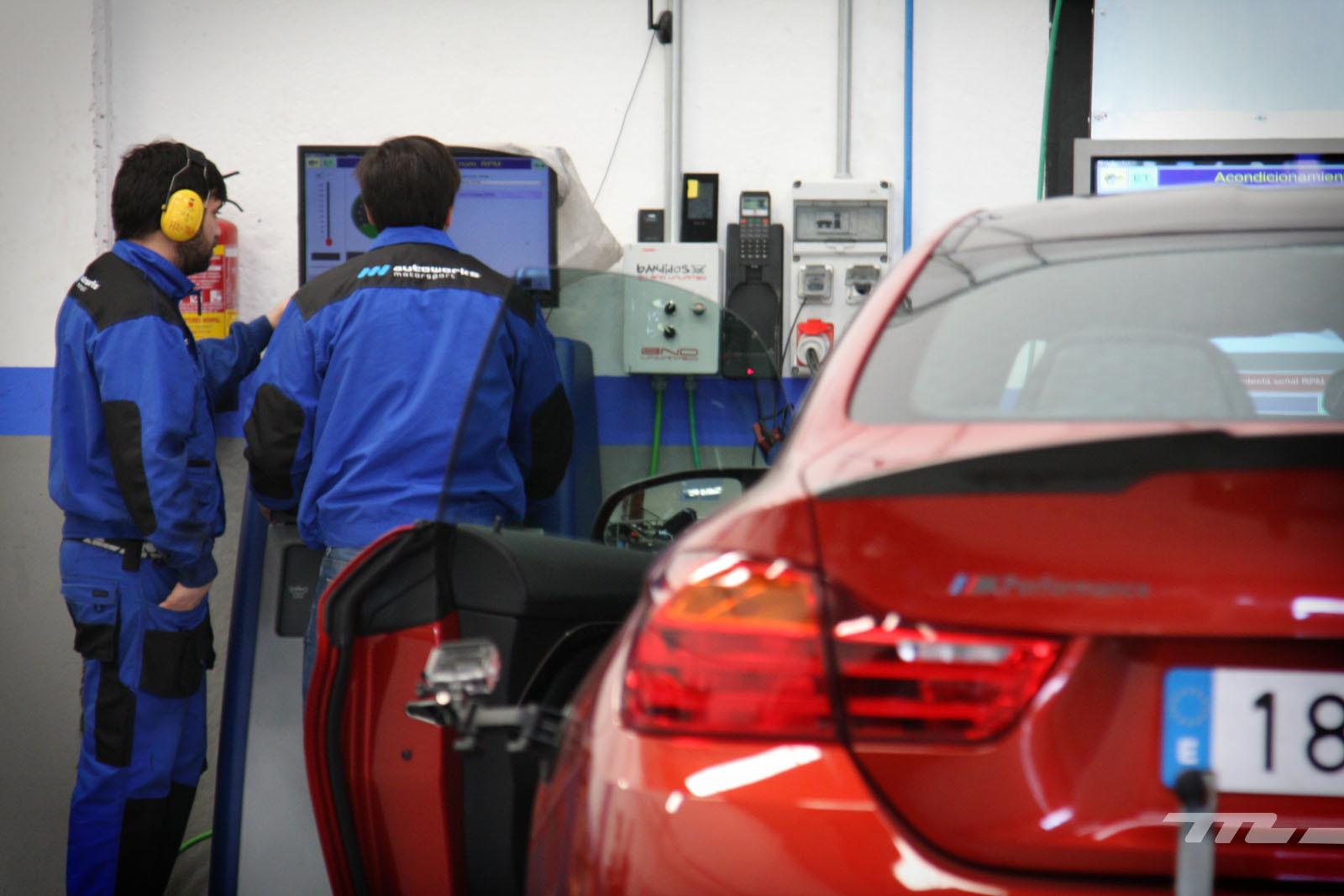 Foto de BMW M4 Performance (prueba en banco de potencia) (32/40)
