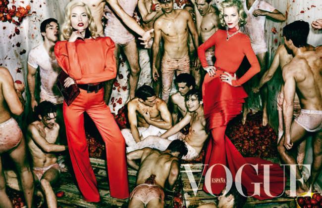 Modelos portada Vogue España