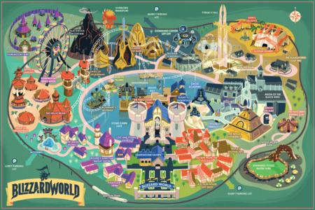 El nuevo mapa de Overwatch, Blizzard World, se puede comprar en la vida real