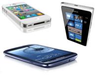 Tres teléfonos franquicia para tres estrategias