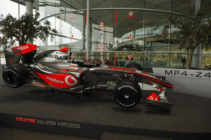 Presentado el nuevo McLaren MP4-24