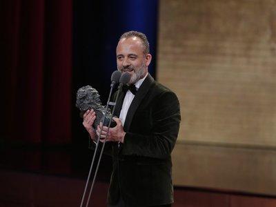 Javier Gutiérrez, ganador del Goya 2018 por 'El autor'