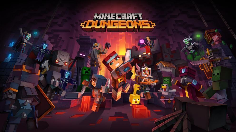 Minecraft Dungeons establece su nueva fecha para finales de mayo