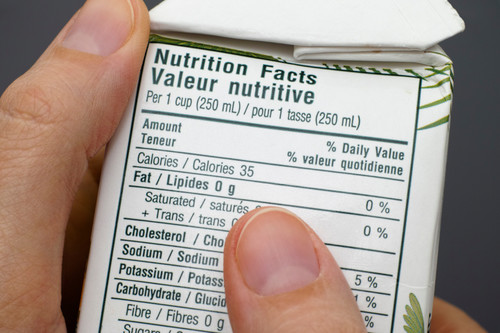 Propósito de mayo: aprende a leer las etiquetas nutricionales de los alimentos