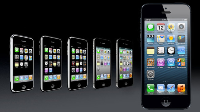 Evolución del iPhone y iOS (2007-2012)