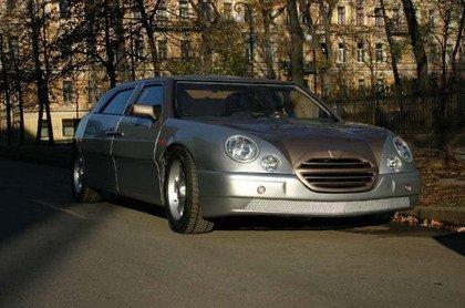 El extraño coche ruso
