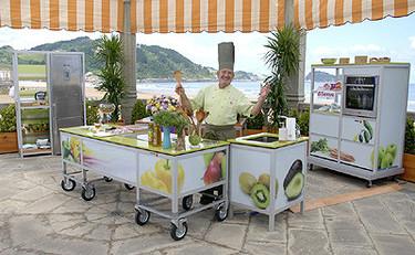 Karlos Arguiñano y su nueva cocina
