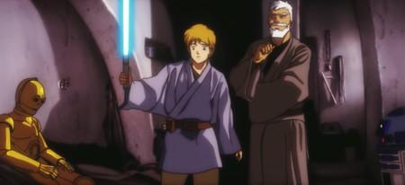 Un genio recreó el mítico tráiler de 'Star Wars: A New Hope' con estética anime y ahora queremos que haya película completa