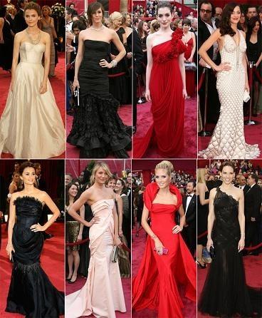 Las más elegantes de los Oscars, ¿a quién eliges?