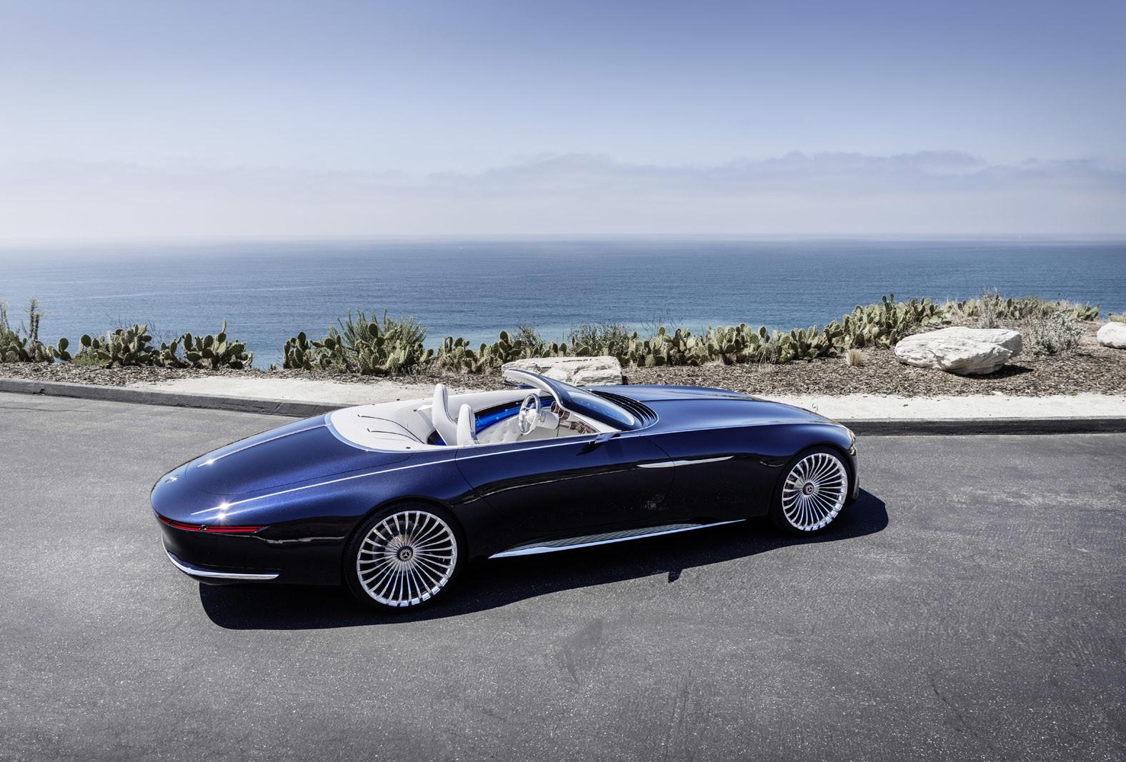 Foto de Vision Mercedes-Maybach 6 Cabriolet (2/12)