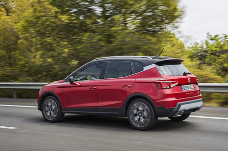 SEAT Arona TGI Gas Natural