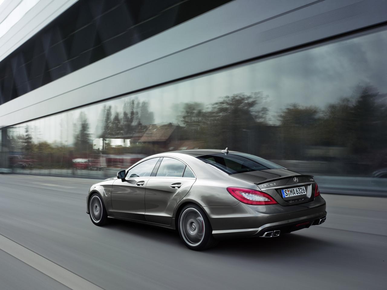 Foto de Mercedes CLS 63 AMG 2011 (12/30)