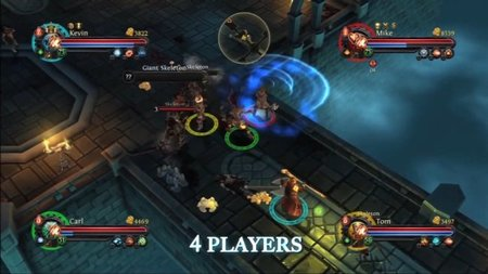 'Dungeon Hunter: Alliance'. Hack'n slash a cuatro bandas en PSN
