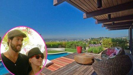 Las Casas de Famosos: el nuevo hogar de Scarlett Johansson y Ryan Reynolds