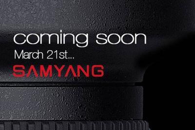 Este viernes Samyang lanzará uno de sus objetivos más esperados