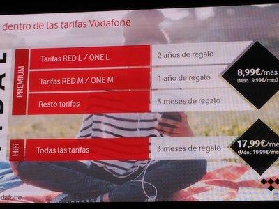 Música en streaming gratis con Vodafone: hasta dos años de Tidal gratis y precios especiales para sus clientes