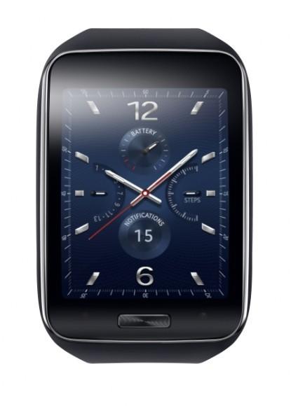 Samsung Gear S azul obscuro