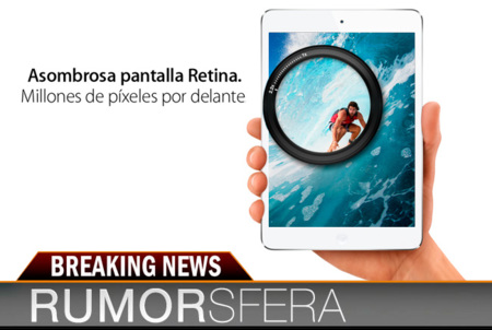 Rumorsfera... iPad Mini con pantalla Retina, nuevos MacBook Air, iPhone 5S y ¿televisión de Apple?