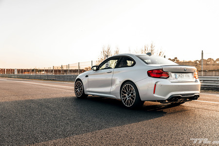 BMW M2 Competition trasera lateral