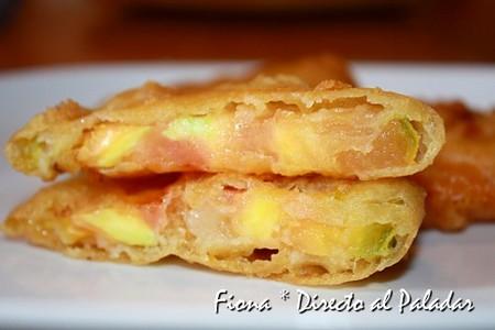 Tomates verdes fritos en tempura