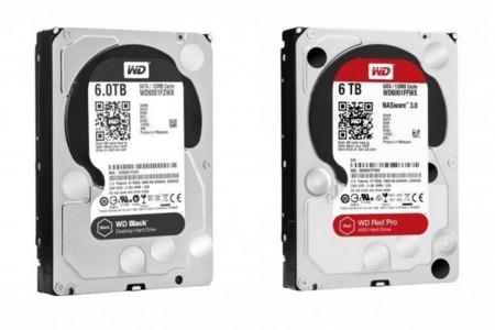 Si buscas disco duro tradicional, Western Digital tiene nuevos modelos de 5 y 6 TB para ti