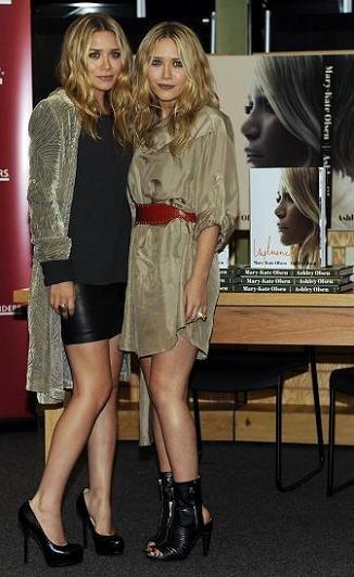 Mary-Kate y Ashley Olsen presentan Influence en Los Ángeles
