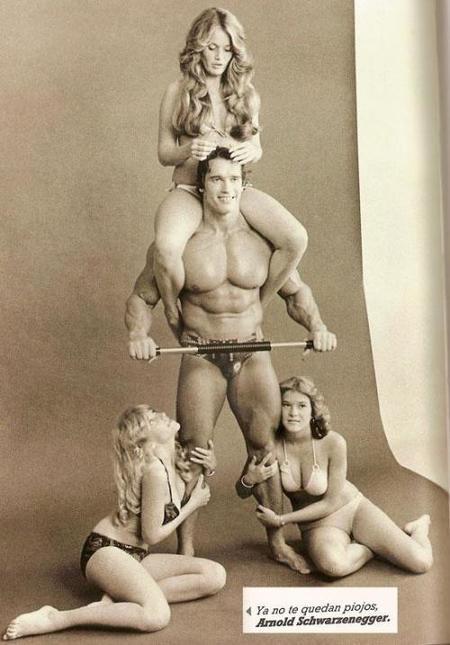 Arnold Schwarzeneger forzudo