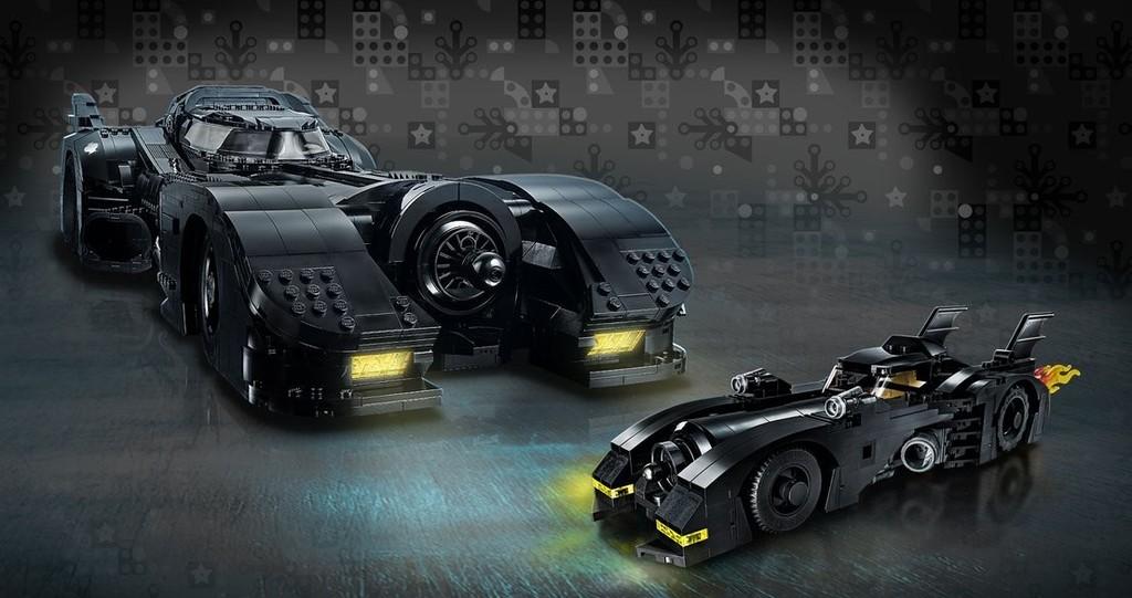 El mayor Batmóvil de LEGO nunca visto sirve para celebrar los 30 años de