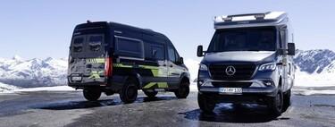 Hymer convierte sus autocaravanas y furgonetas camper en dos apetecibles casas todoterreno, pero por más de 100.000 euros