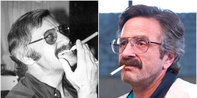 Stan Lee In 1976 And Marc Maron In Glow
