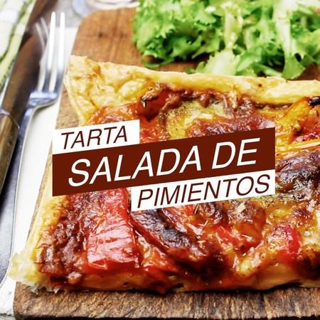 Tarta Salada Pimientos