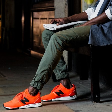 new balance 247 hombre naranjas
