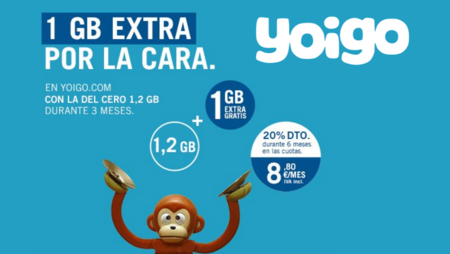 Yoigo revitaliza su tarifa Cero para portabilidades: ahora 2.2 GB durante tres meses
