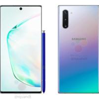 """Samsung Galaxy Note 10: el """"hermano pequeño"""" muestra a detalle su diseño con un gradiente de color muy familiar"""
