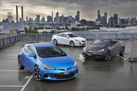Los Opel Insignia, Cascada y Astra se van para Oceanía