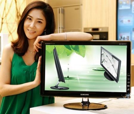 Samsung lanza un par de monitores con consumo reducido