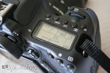Canon EOS 70D detalle