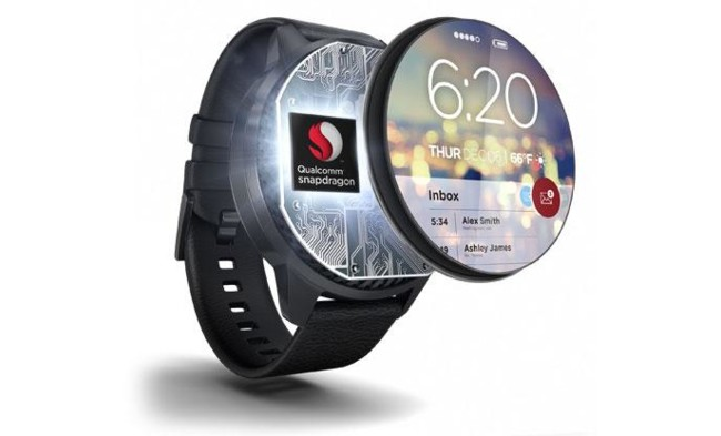 Snapdragon Wear Smartwatch Layered Feature